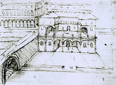 Charmant Architectural Studies For A City On Several Levels